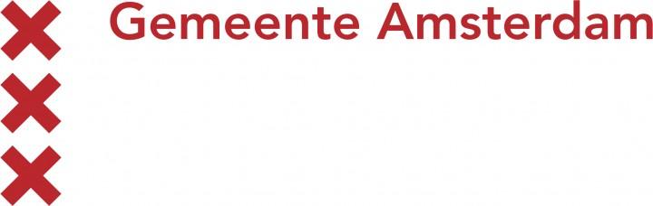 Logo Gemeente Amsterdam Rood:Wit
