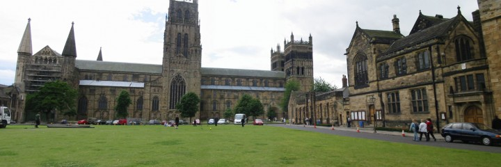 Palace green and north view of Cathederal