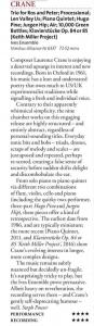 Crane Ives Ensemble cd review BBC Music Magazine